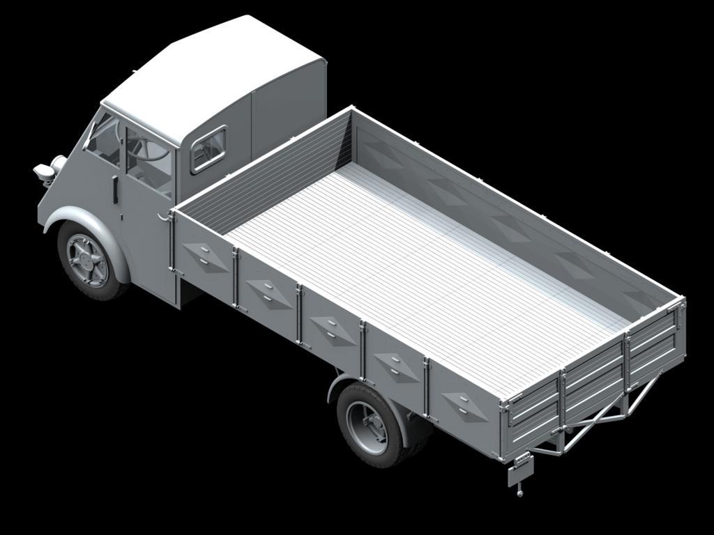 Lastkraftwagen 3,5 t AHN con conductores (Vista 4)