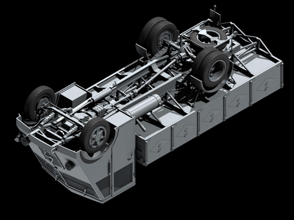 Lastkraftwagen 3,5 t AHN con conductores (Vista 5)