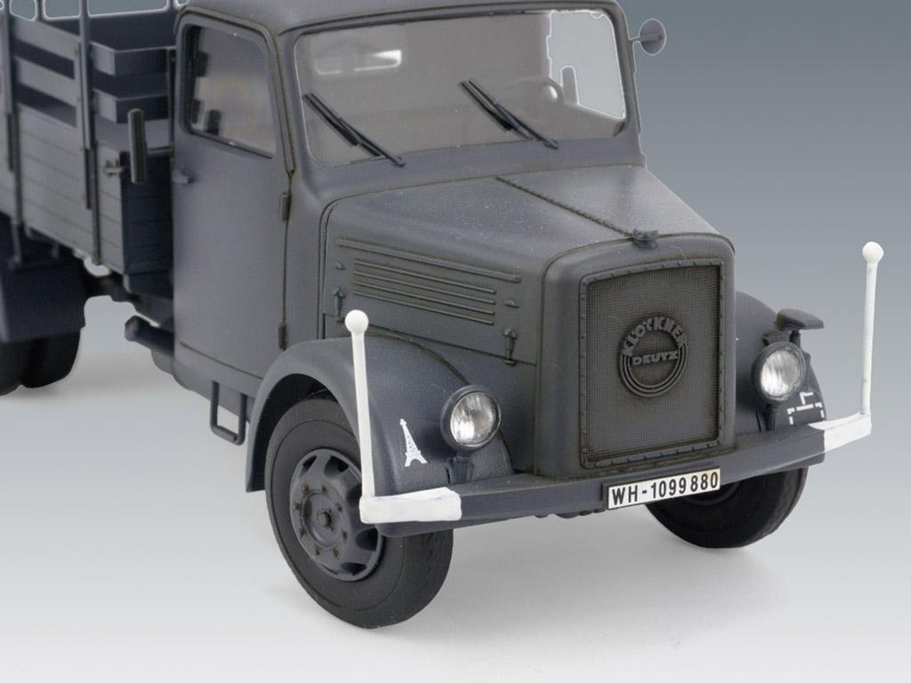 KHD S3000, WWII German Army Truck (Vista 5)