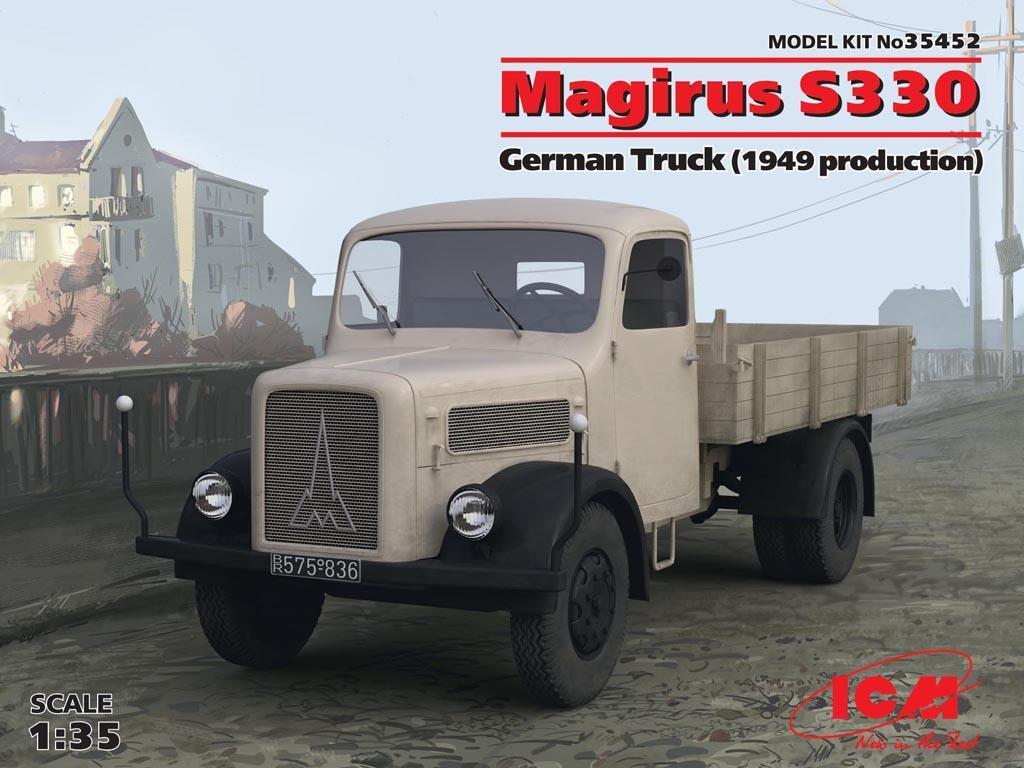 Camion Aleman Magirus S330 (Vista 1)