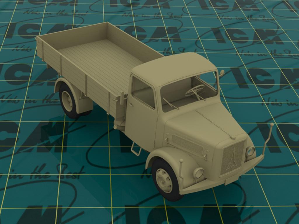 Camion Aleman Magirus S330 (Vista 3)
