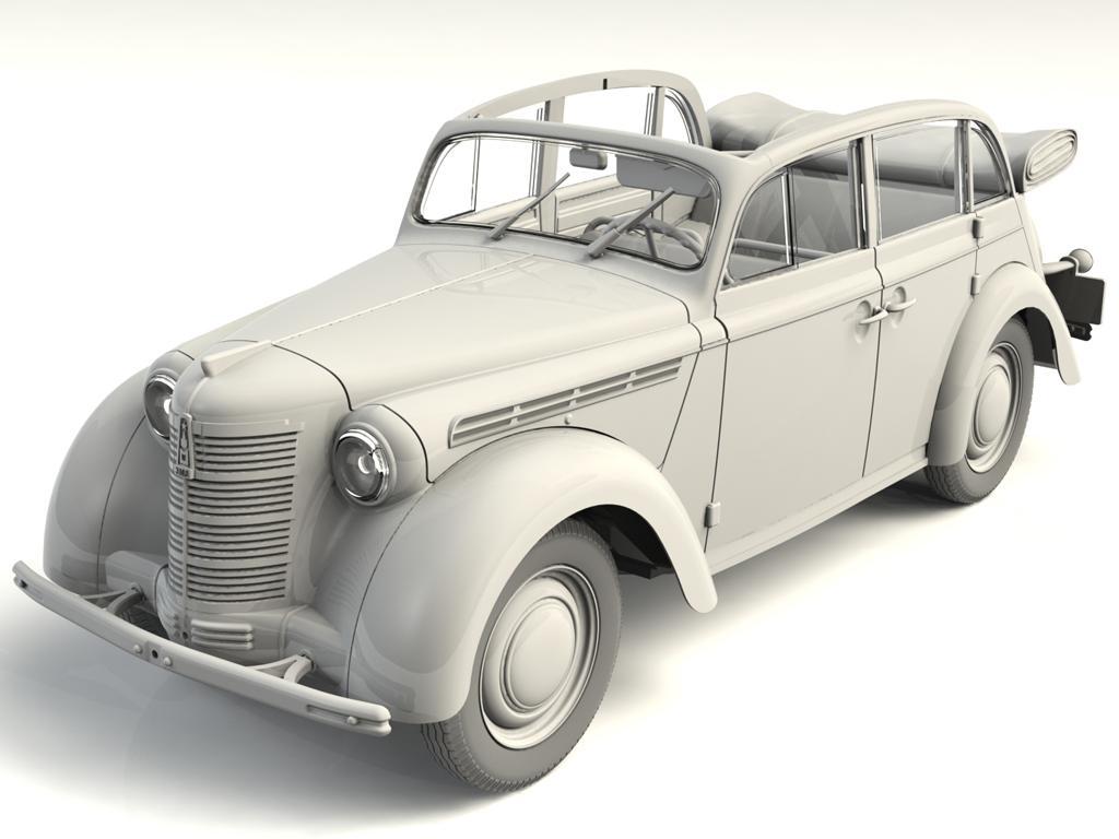 Moskvitch-401-420A, vehículo de pasajeros soviético (Vista 3)