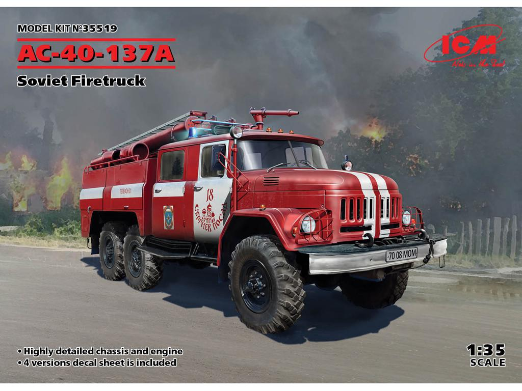 AC-40-137A, Soviet Firetruck (Vista 1)