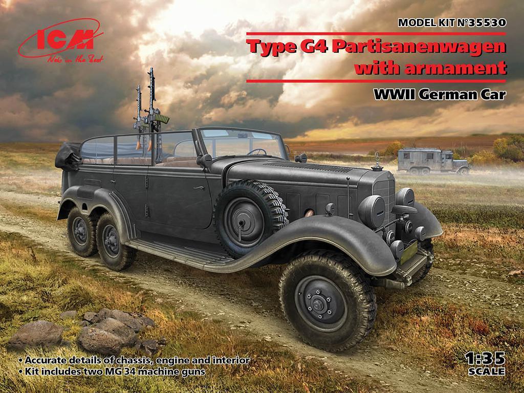 Tipo G4 Partisanenwagen con armamento (Vista 1)