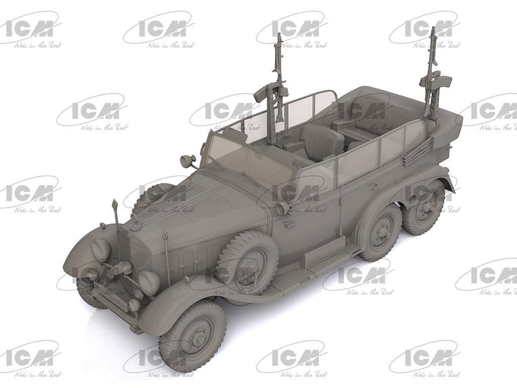 Tipo G4 Partisanenwagen con armamento (Vista 2)