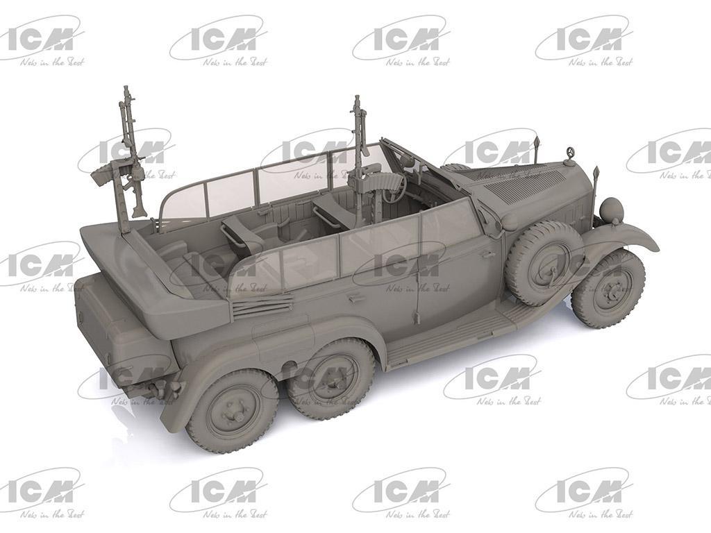 Tipo G4 Partisanenwagen con armamento (Vista 4)