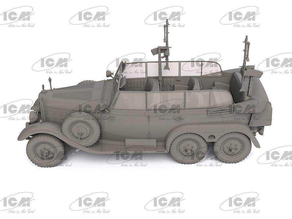 Tipo G4 Partisanenwagen con armamento (Vista 5)