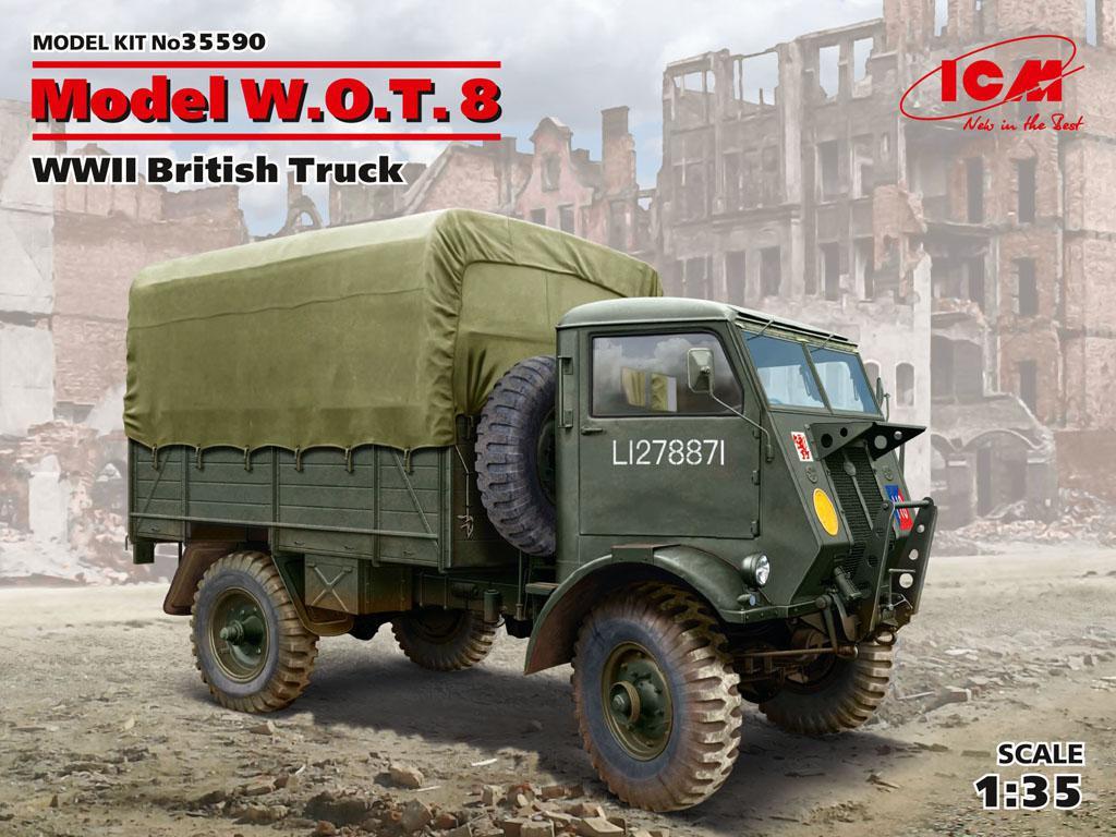 Model W.O.T. 8, WWII British Truck (Vista 1)