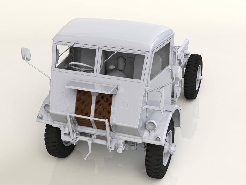 Model W.O.T. 8, WWII British Truck (Vista 2)