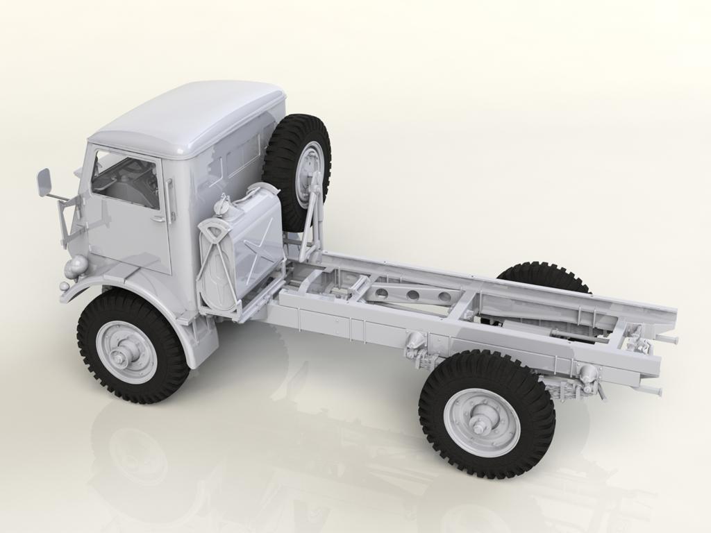 Model W.O.T. 8, WWII British Truck (Vista 3)