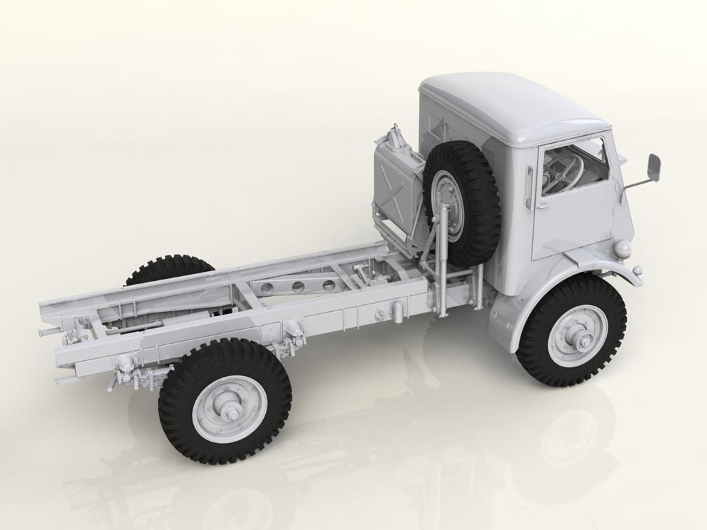 Model W.O.T. 8, WWII British Truck (Vista 4)