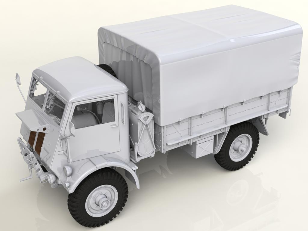 Model W.O.T. 8, WWII British Truck (Vista 5)