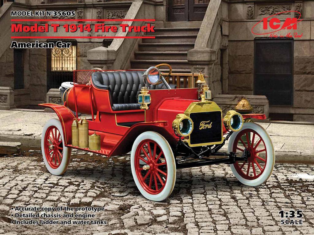 Camión de bomberos modelo T 1914 (Vista 1)