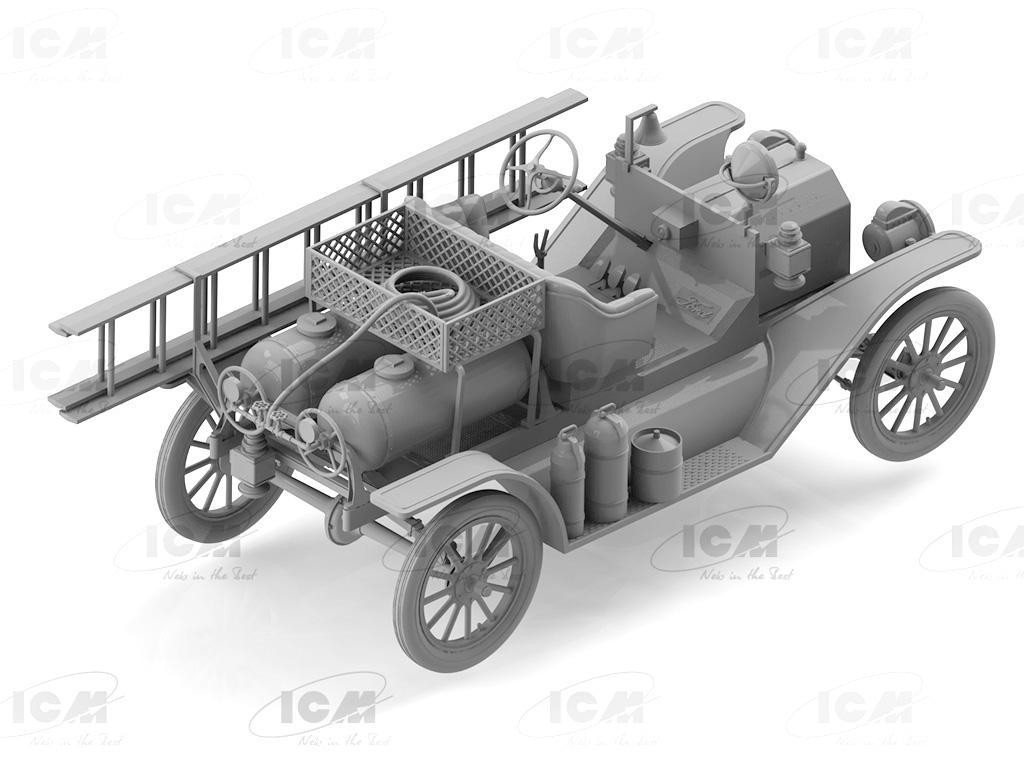 Camión de bomberos modelo T 1914 (Vista 3)