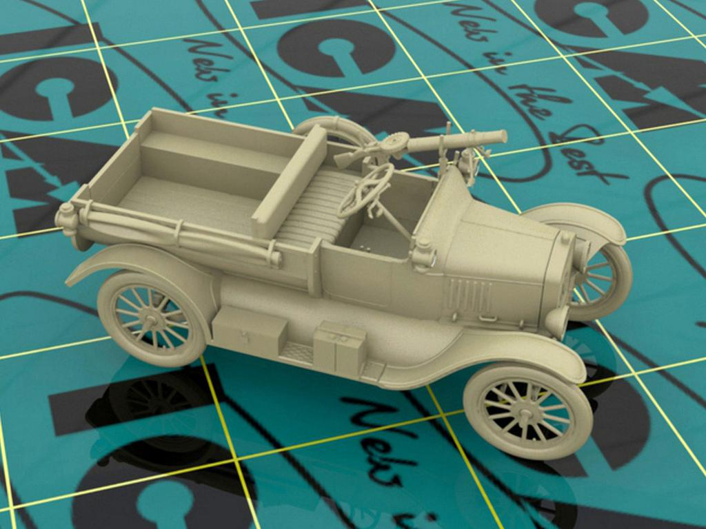 Model T 1917 LCP with Vickers MG, WWI ANZAC Car (Vista 4)