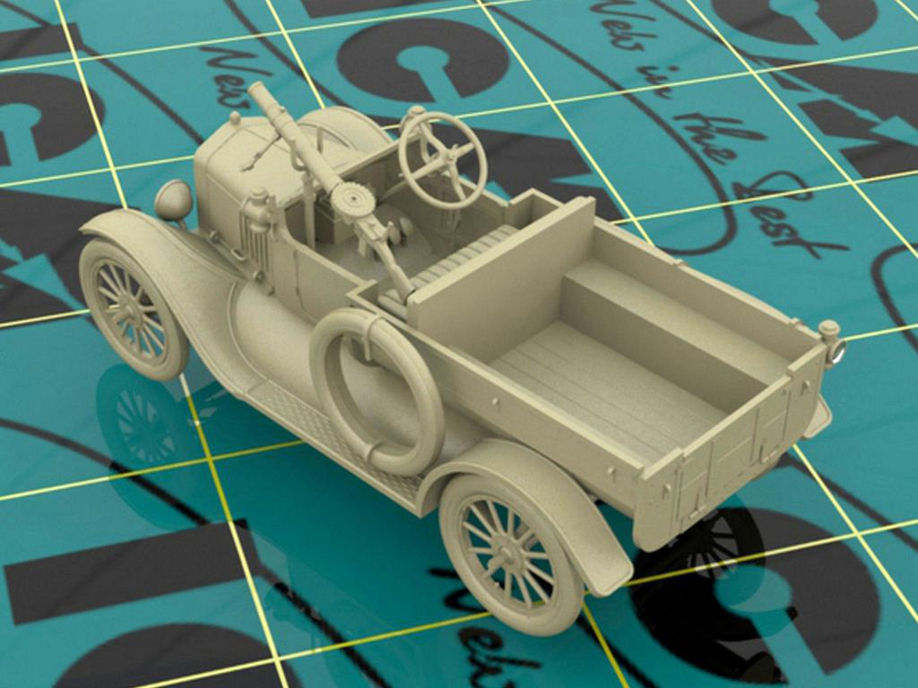 Model T 1917 LCP with Vickers MG, WWI ANZAC Car (Vista 6)