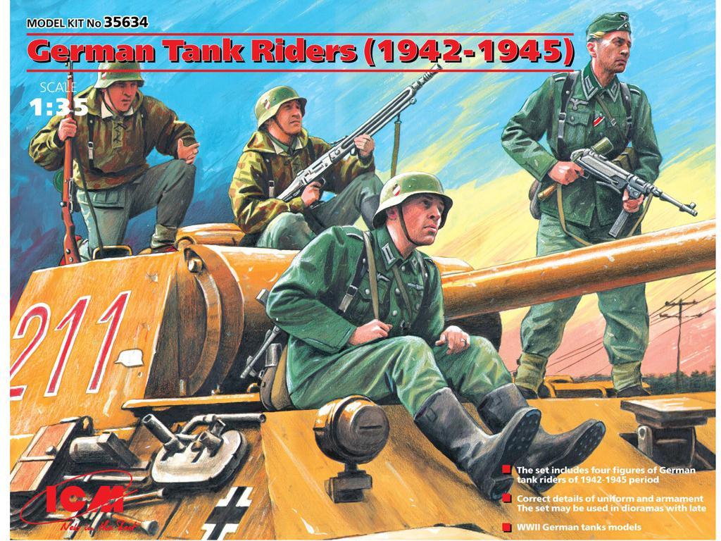 German Tank Riders 1942-1945 (Vista 1)