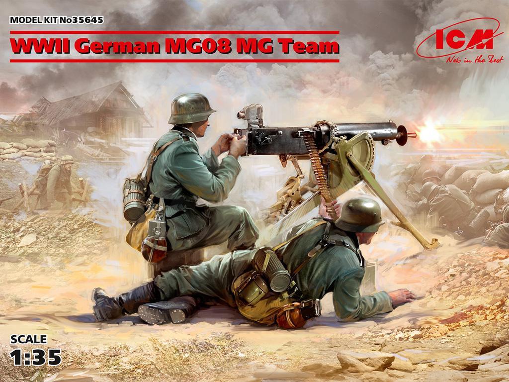 Equipo alemán MG08 MG  (Vista 1)