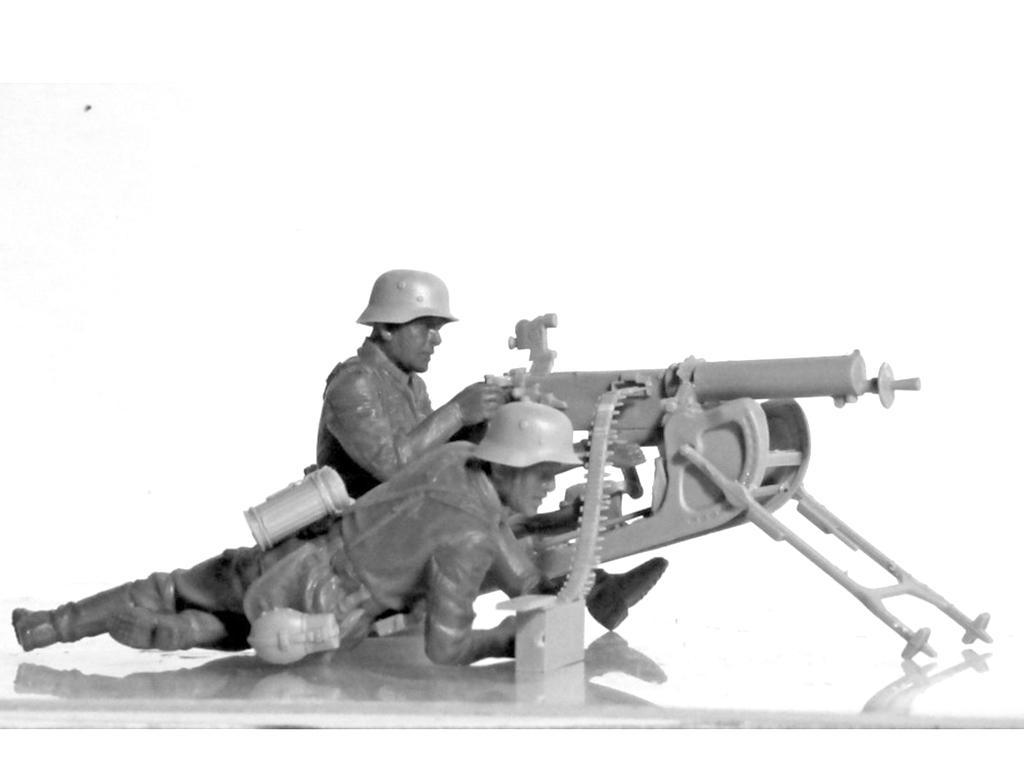 Equipo alemán MG08 MG  (Vista 2)