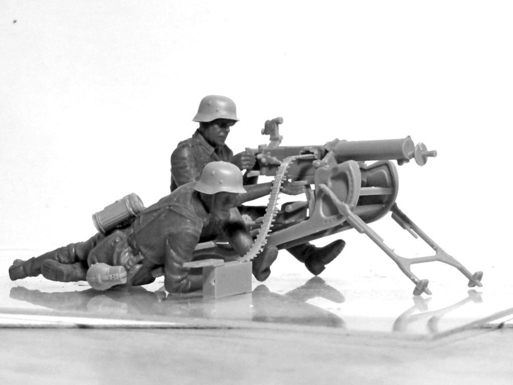Equipo alemán MG08 MG  (Vista 3)