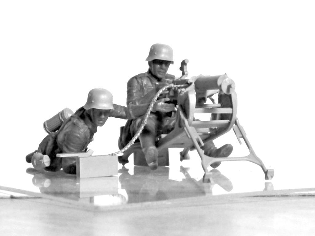 Equipo alemán MG08 MG  (Vista 4)