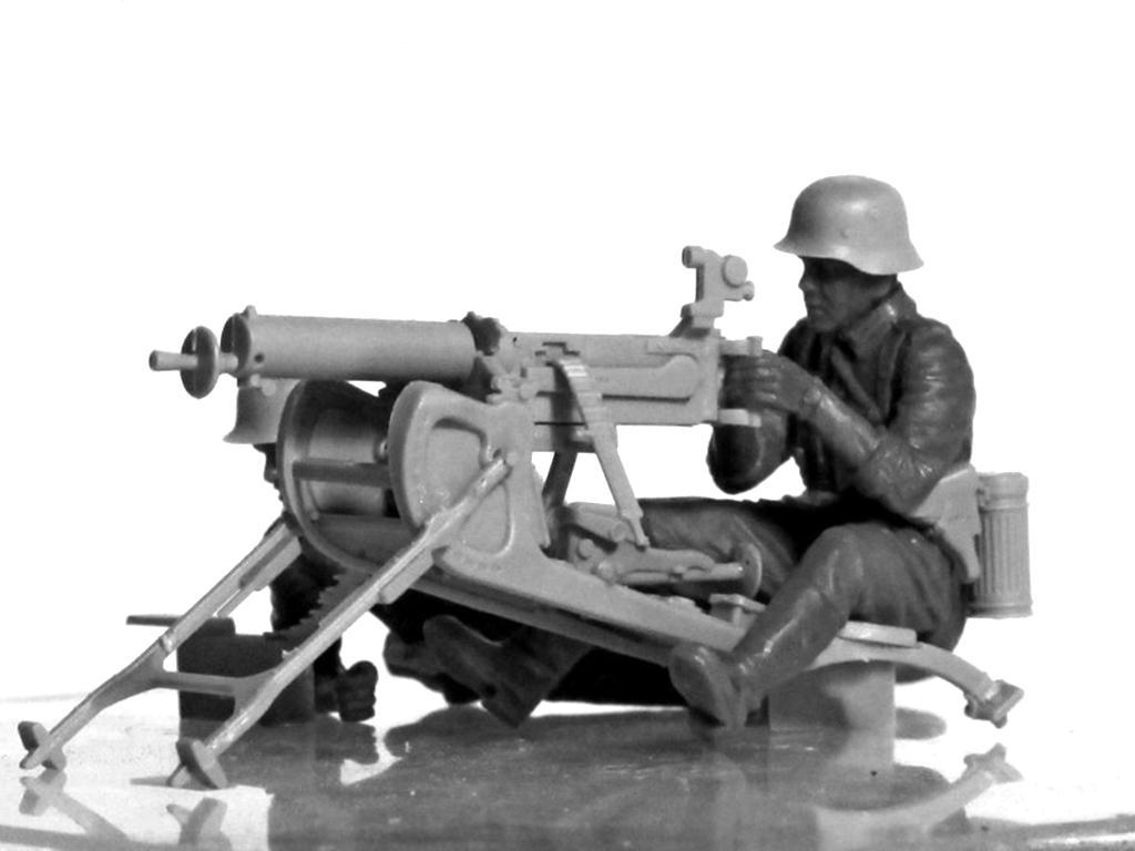 Equipo alemán MG08 MG  (Vista 7)