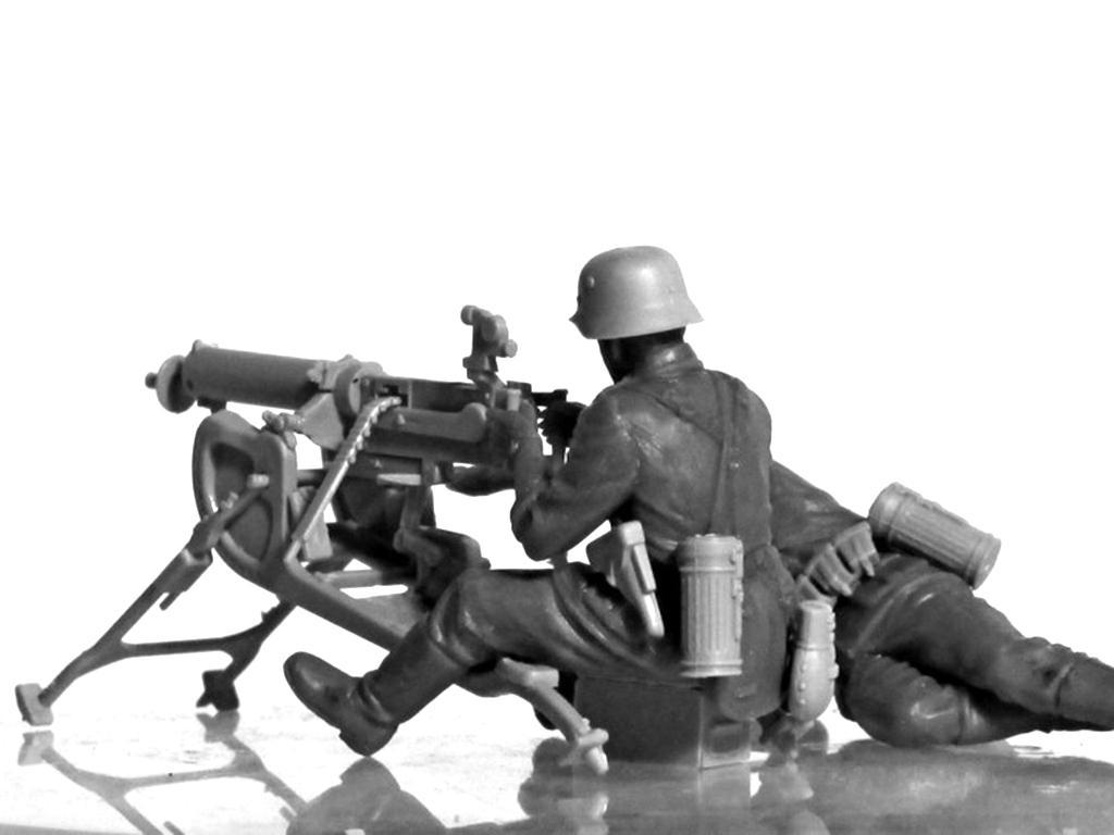 Equipo alemán MG08 MG  (Vista 8)