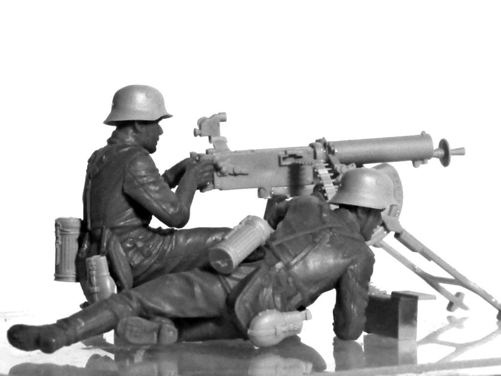 Equipo alemán MG08 MG  (Vista 9)