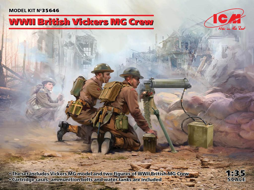 British Vickers MG Crew (Vista 1)