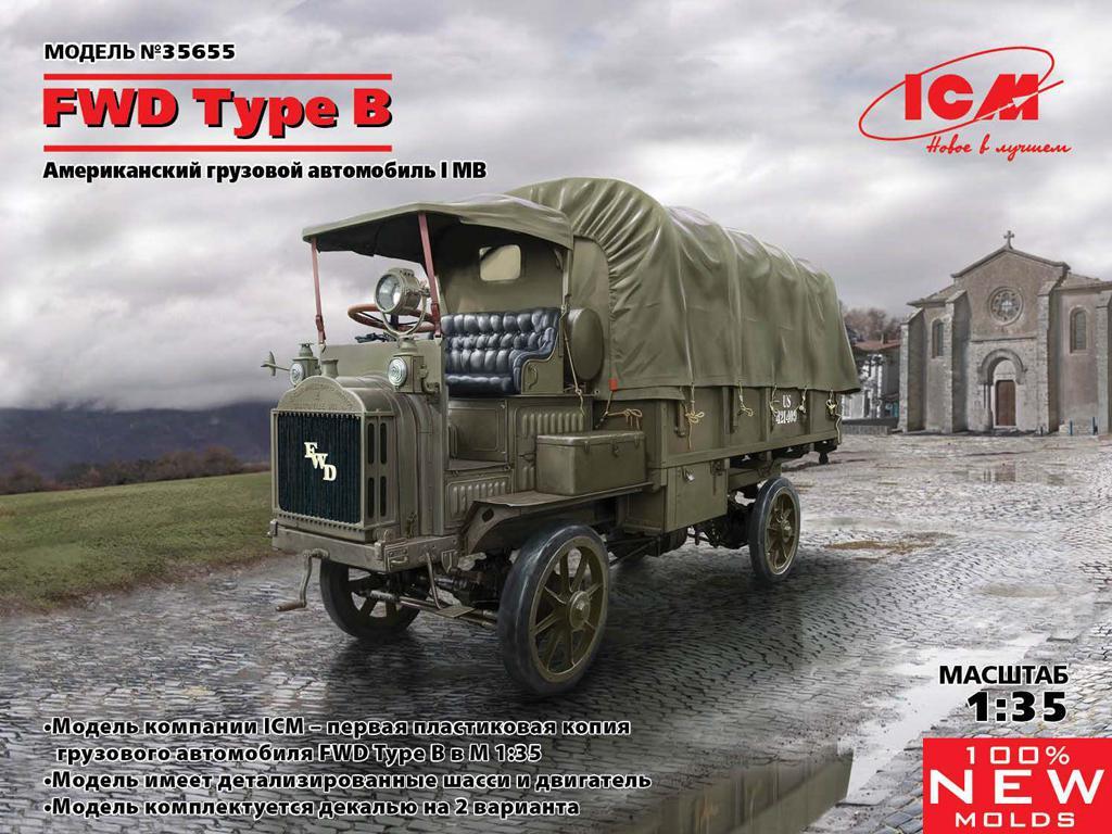 FWD Type B,  US Army Truck (Vista 1)