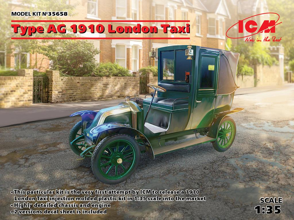 Type AG 1910 London Taxi (Vista 1)