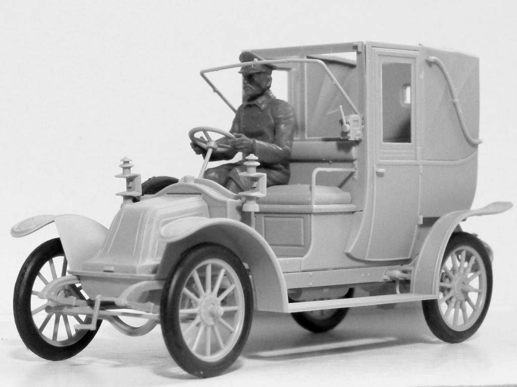 Batalla del Marne 1914 Taxi con Infantería Francesa (Vista 7)