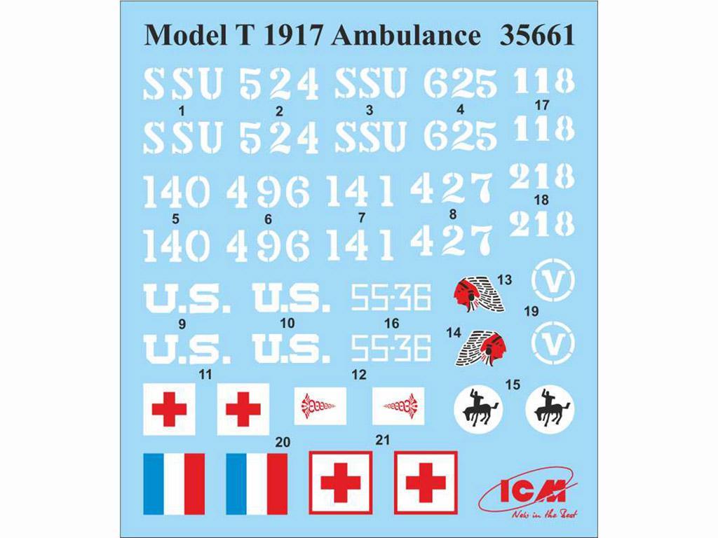 Model T 1917 Ambulancia (Vista 2)