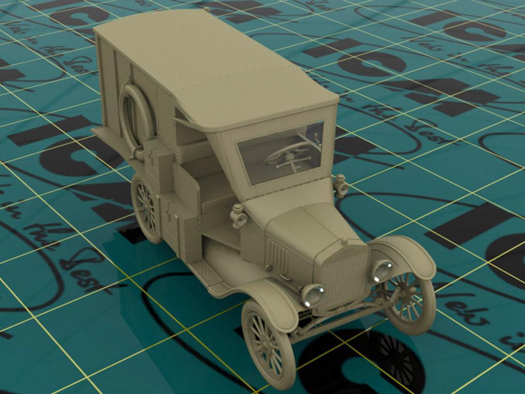 Model T 1917 Ambulancia (Vista 3)