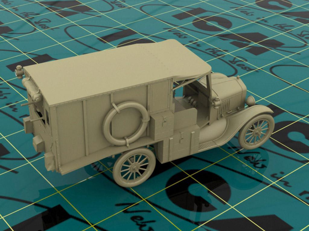 Model T 1917 Ambulancia (Vista 8)