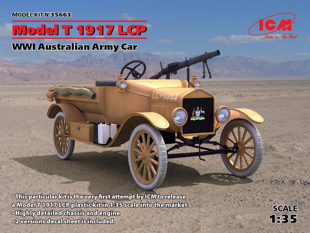 Model T 1917 LCP, WWI Australian Army Ca (Vista 1)
