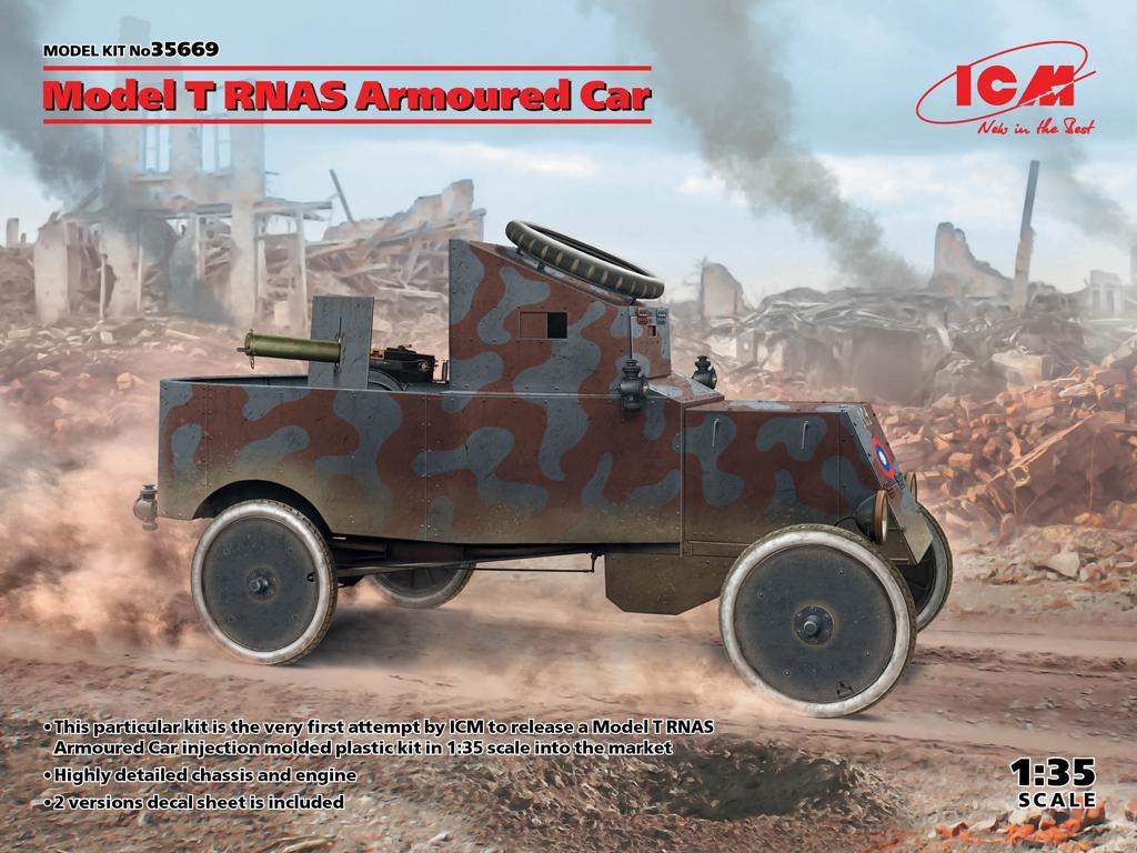 Model T RNAS Armoured Car (Vista 1)