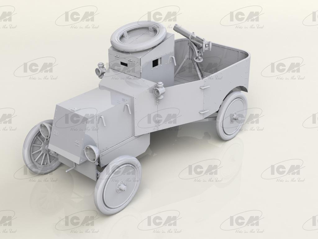 Model T RNAS Armoured Car (Vista 2)