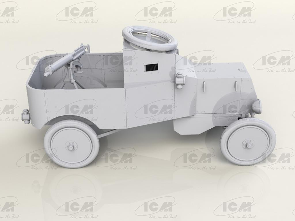 Model T RNAS Armoured Car (Vista 3)