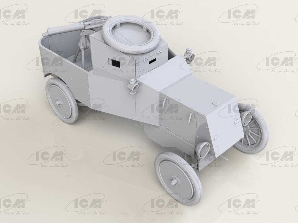 Model T RNAS Armoured Car (Vista 4)