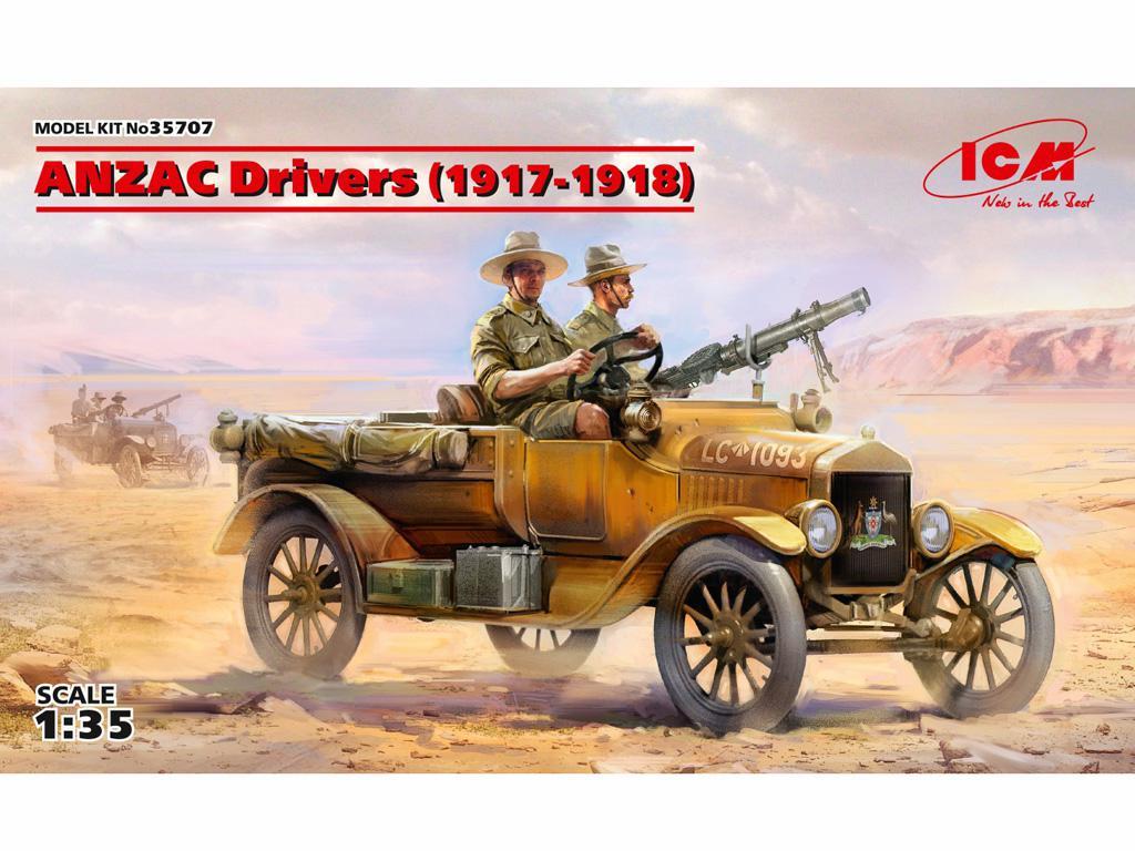 Conductores ANZAC 1917-1918 (Vista 1)