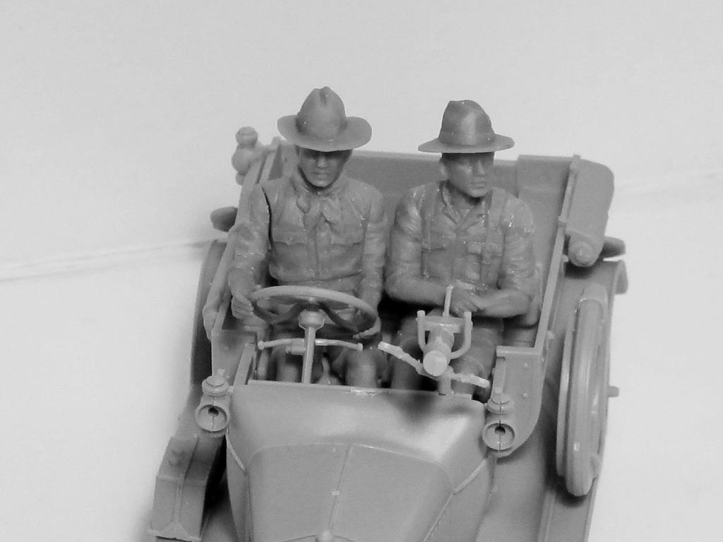 Conductores ANZAC 1917-1918 (Vista 2)