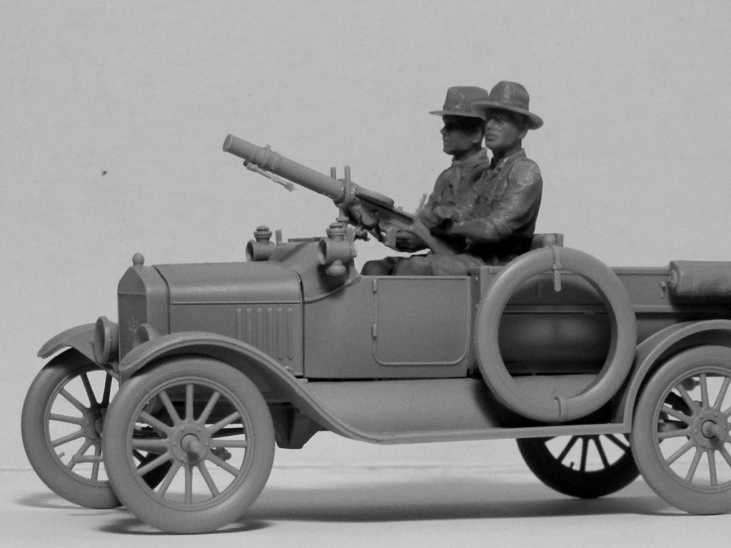 Conductores ANZAC 1917-1918 (Vista 3)