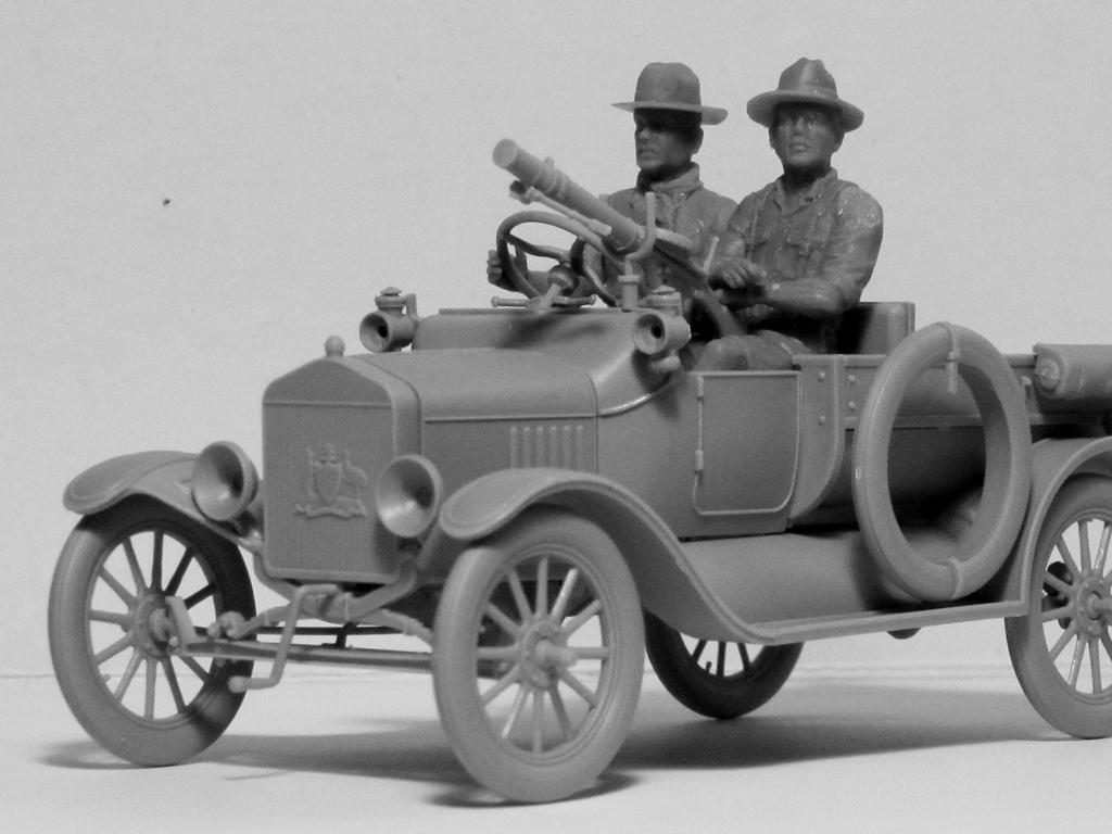 Conductores ANZAC 1917-1918 (Vista 4)