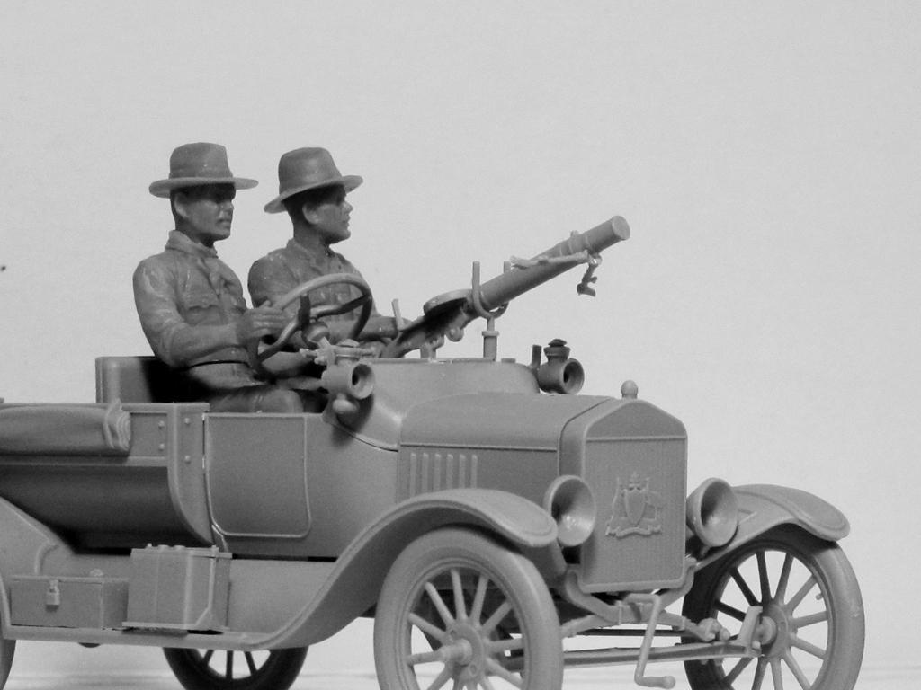 Conductores ANZAC 1917-1918 (Vista 5)