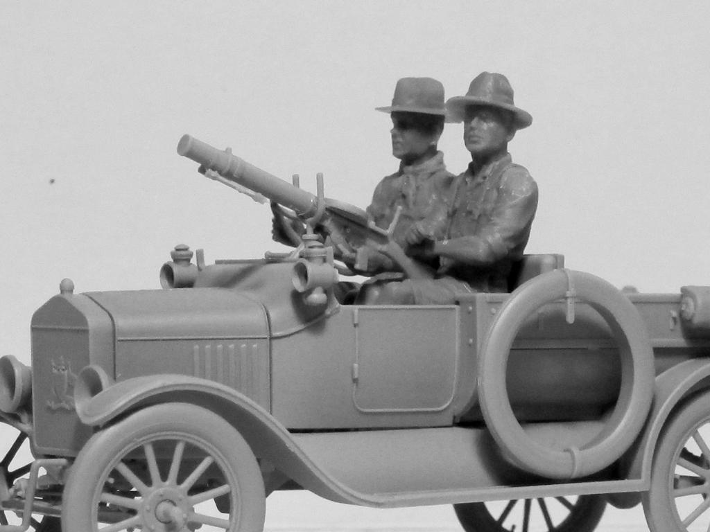 Conductores ANZAC 1917-1918 (Vista 8)