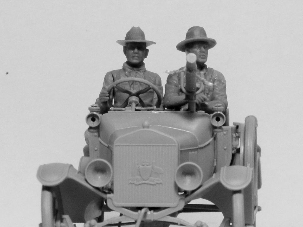 Conductores ANZAC 1917-1918 (Vista 9)