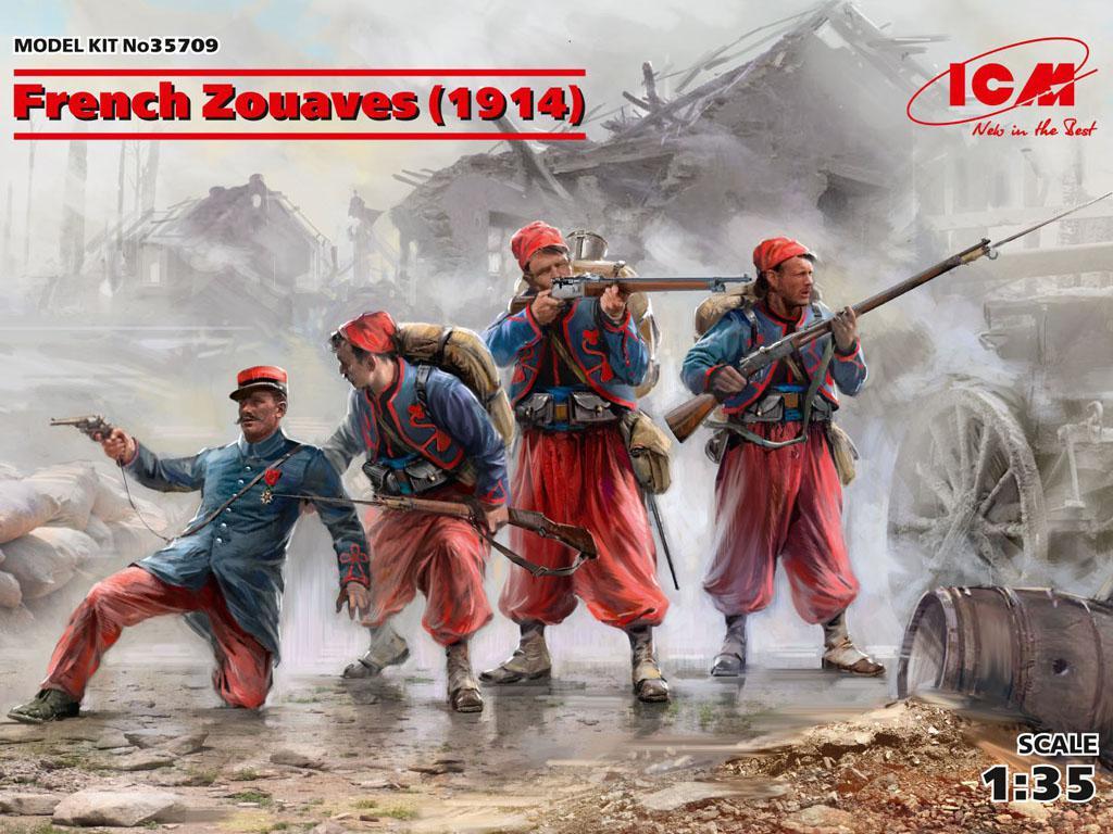 Zouaves Francéses 1914 (Vista 1)
