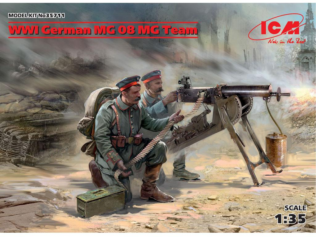 German MG08 MG Team (Vista 1)