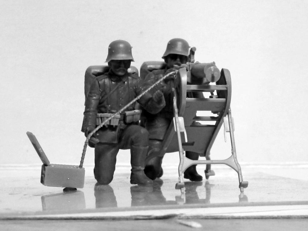 German MG08 MG Team (Vista 9)